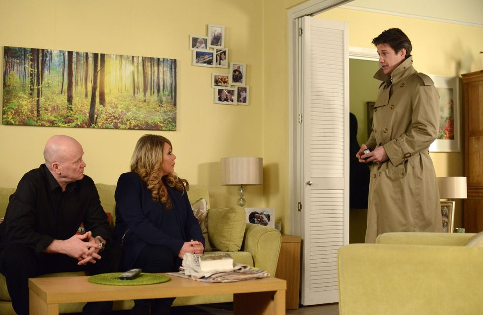 Eastenders 14/04 - Things are beginning to look up for the Mitchells