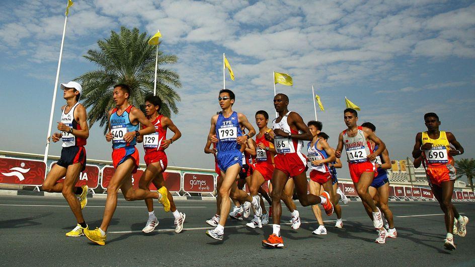 Au Qatar, des travailleurs immigrés forcés à courir un semi-marathon