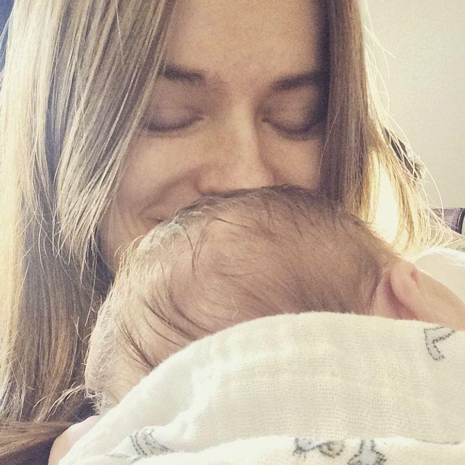Robyn Lawley et sa petite Ripley