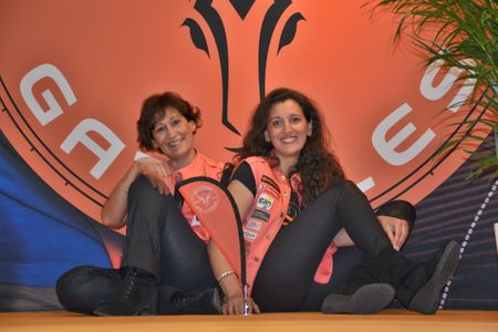 Patricia Ciciliani et Manal Faxelle
