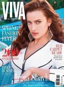Irina Shayk pour Viva Magazine
