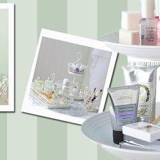 E voilà! 5 ideias lindas para guardar maquiagem e produtos de beleza