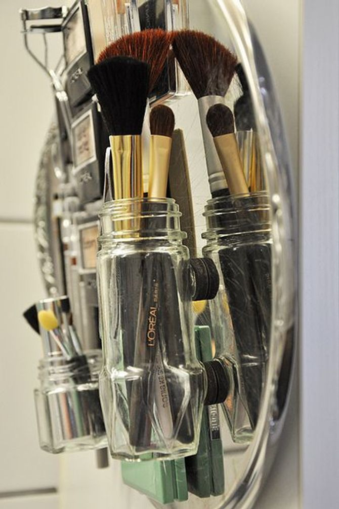 Magentische Make-up Wand