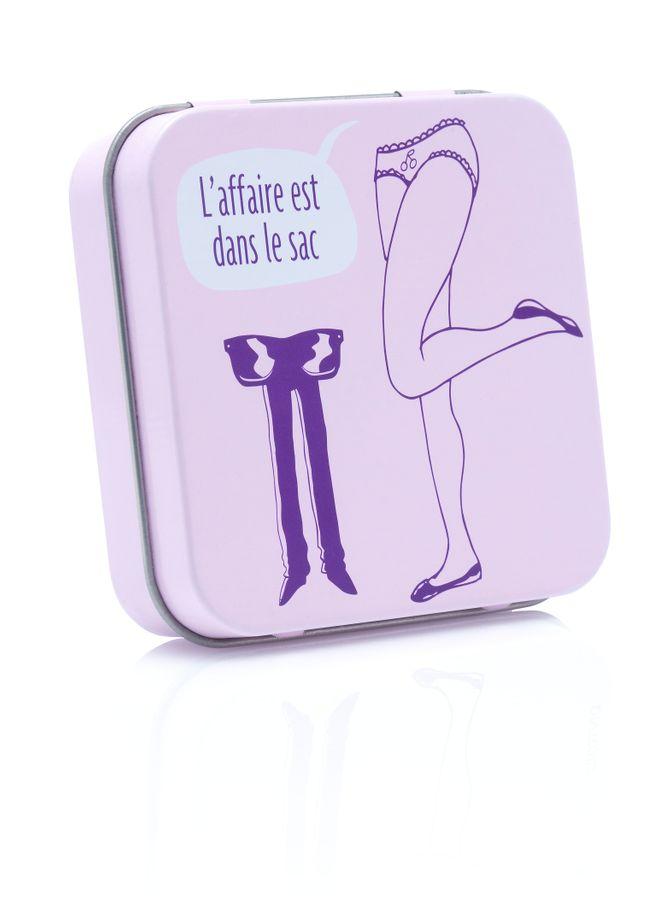 La pocket box idéal - 3 préservatifs - 3,99€ - INTIMY