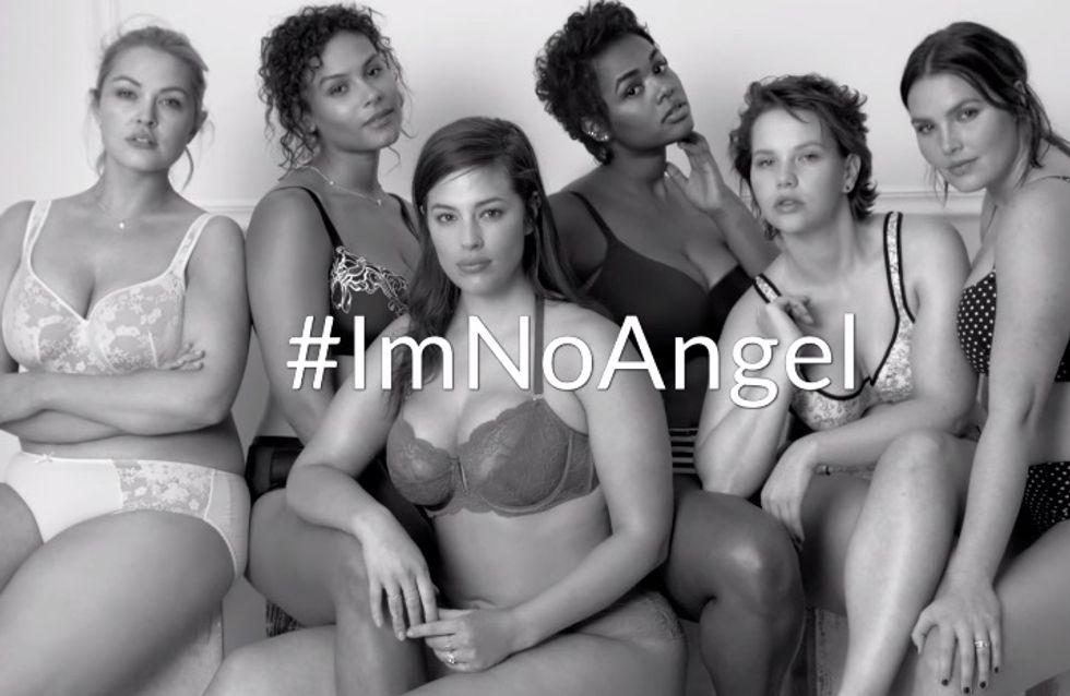 Les modèles plus size redéfinissent le terme « sexy » dans la campagne #ImNoAngel