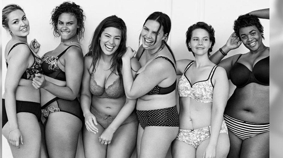 Sexy ist nicht gleich perfekt: Diese Unterwäsche-Kampagne hat eine wichtige Botschaft