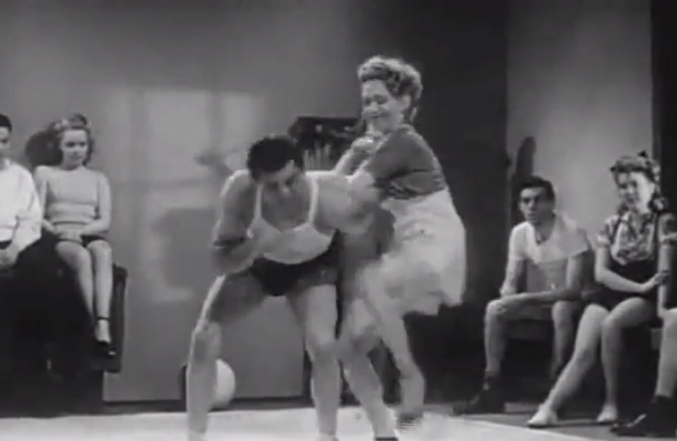 This Self Defence Video From The 1940s Is The Best Thing You'll See Today