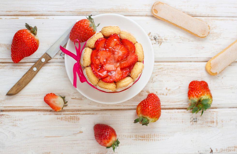 La charlotte aux fraises, un incontournable des desserts sans cuisson