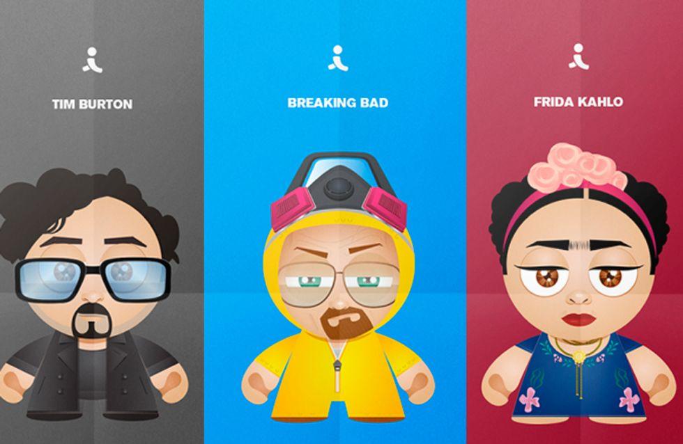 Geeks de plantão: ícones da cultura pop transformados em cartoons