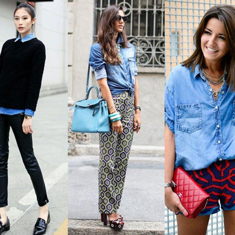 7204c0692e Come indossare e abbinare la camicia di jeans