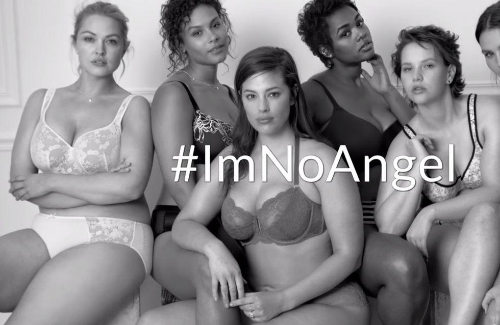 #ImNoAngel. La rivincita del corpo curvy in una campagna per l'intimo