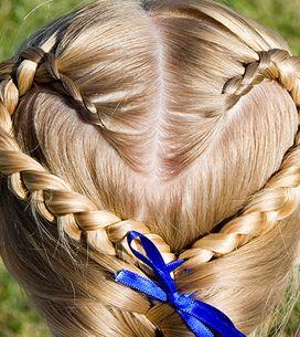 Penteados muito, muito fofos para meninas