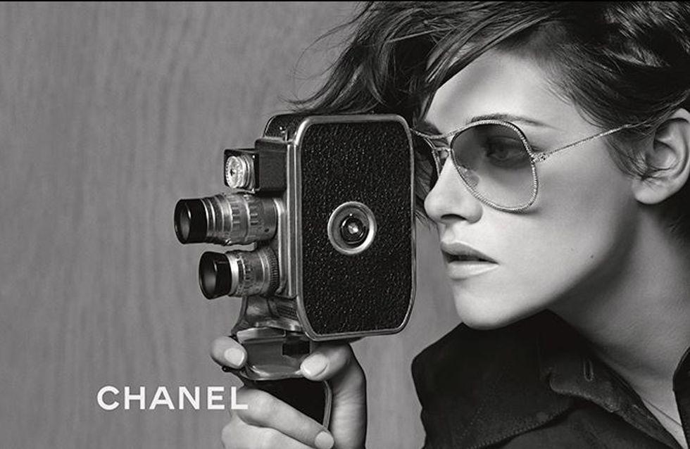 Kristen Stewart, égérie rock pour les lunettes Chanel (Photo)