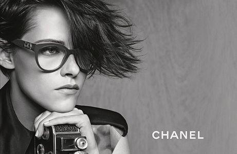 Kristen Stewart pour la nouvelle campagne Chanel Eyewear