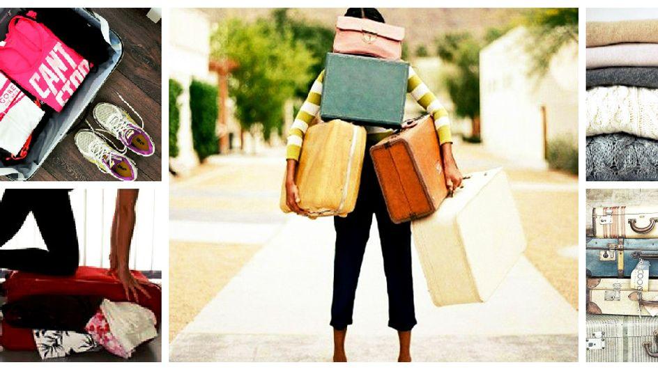 Bitte, geh zu! 7 Phasen, die jede Frau beim Kofferpacken durchläuft