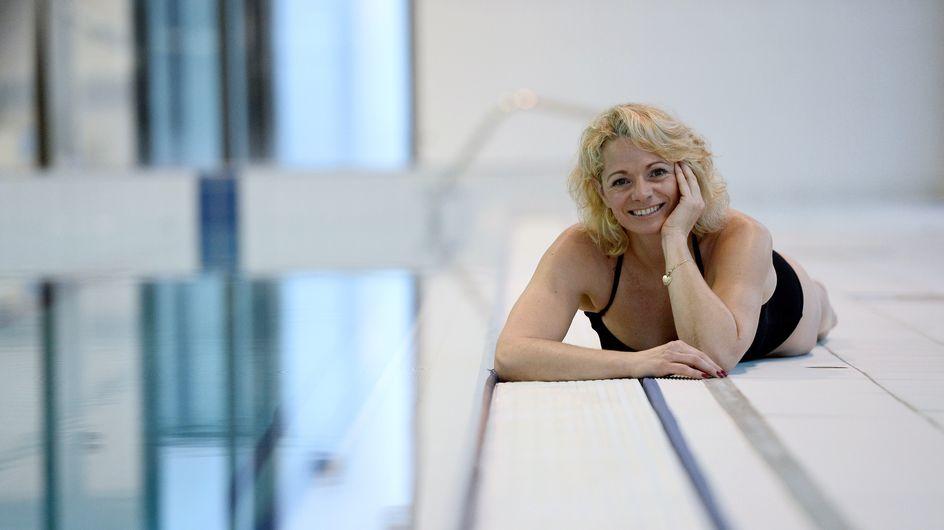 Muriel Hermine, ex-championne de France de natation synchronisée, reprend du service à 51 ans