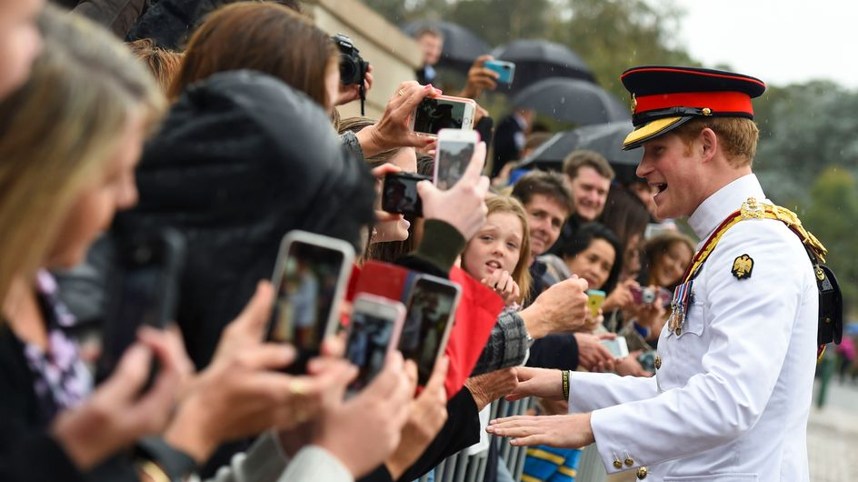 Le prince Harry n'aime pas les selfies