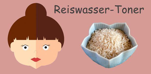 Reiswasser-Toner