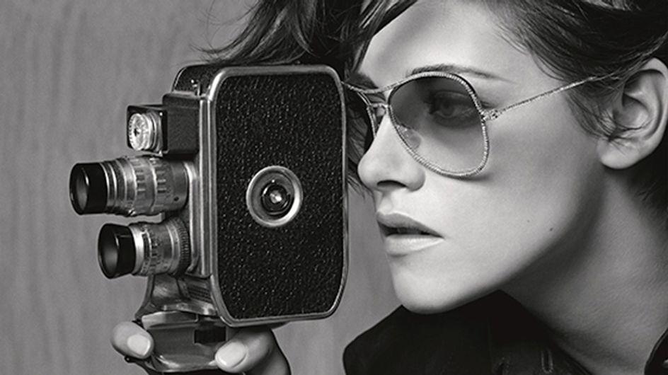 Kristen Stewart Gives Us Major Glasses Envy In Her New Chanel Eyewear Campaign