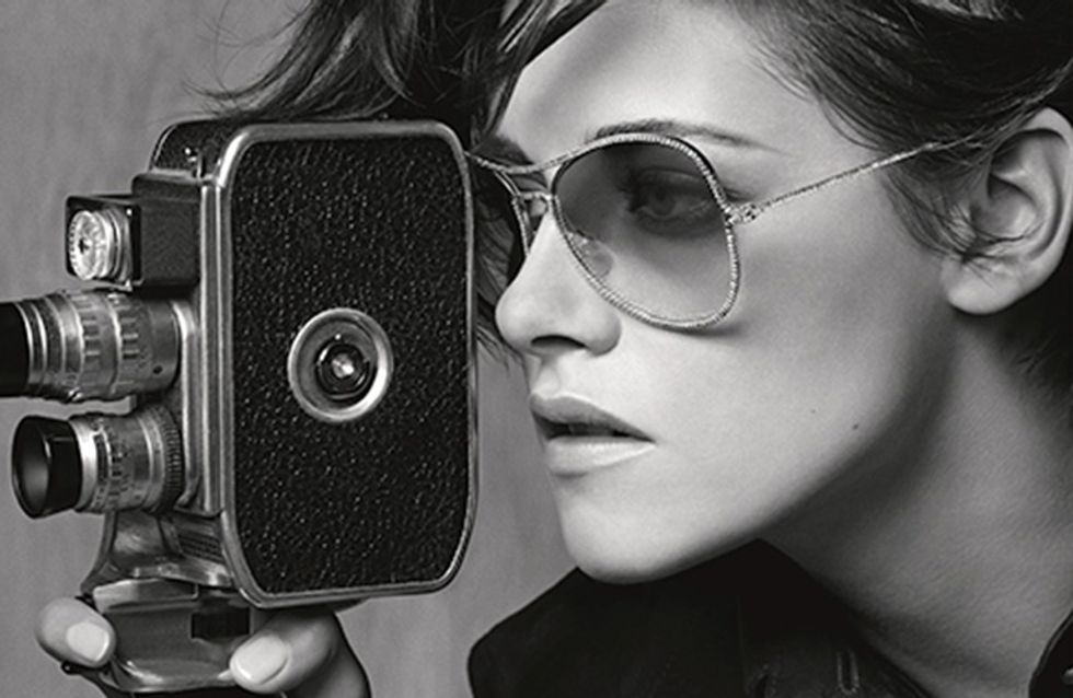 Kristen Stewart Gives Us Major Glasses Envy In Her New Chanel Eyewear Campaign