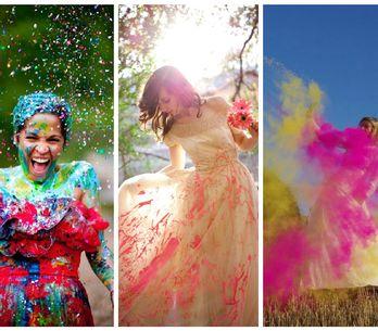 16 photos de mariage spectaculaires expliquant ce qu'est le Trash the Dress