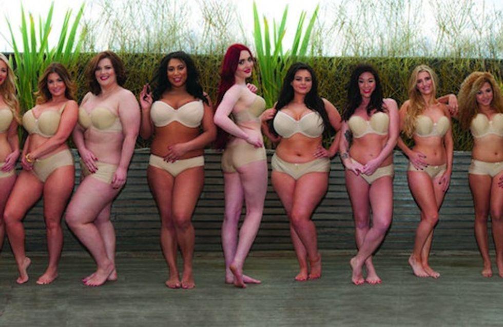 Echte Frauen sehen nicht aus wie Victoria's Secret Models - sondern viel schöner!