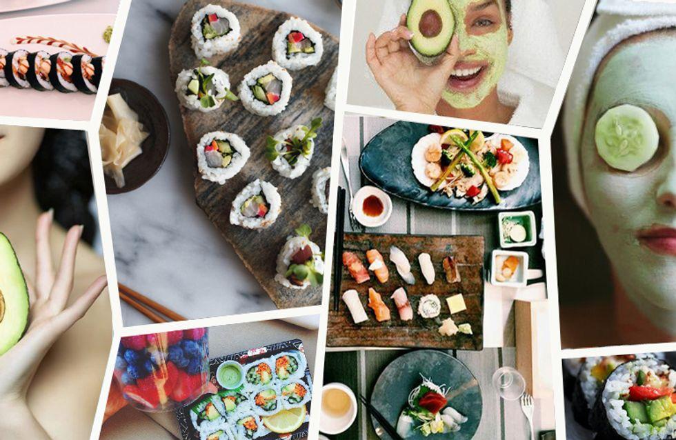 Beauty-Tricks aus Fernost: Mit diesen 4 DIY-Hacks macht Sushi euch schön!