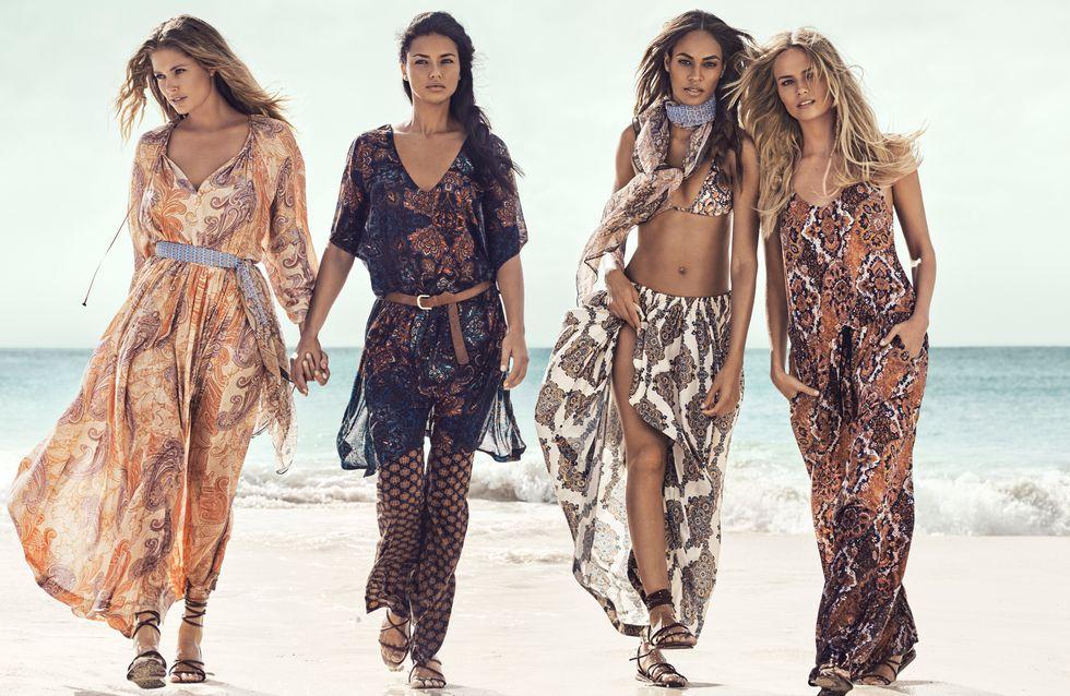 H&M s'offre quatre égéries de choix pour sa nouvelle campagne été 2015 (Photos)