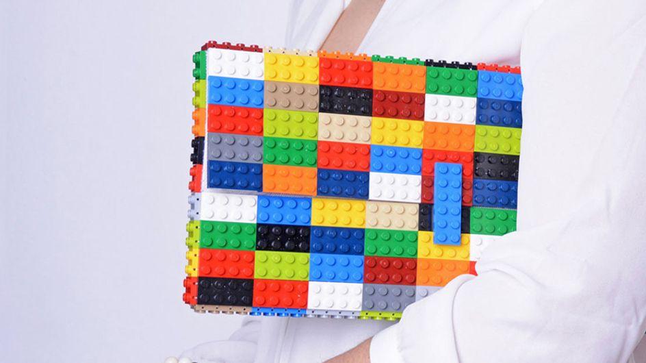 Jeitinho de infância: conheça as bolsas de lego