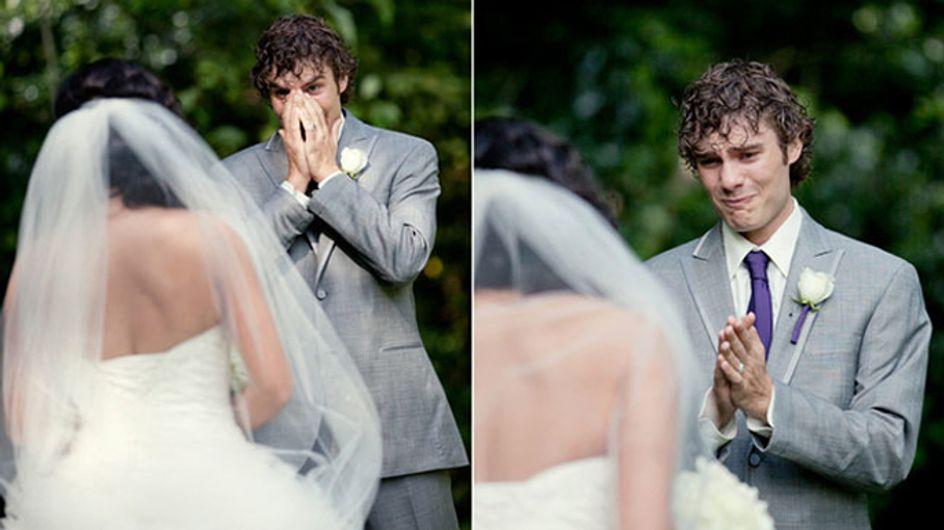 Tränen garantiert: 17 Männer an ihrem Hochzeitstag, die ihre Braut zum ersten Mal sehen