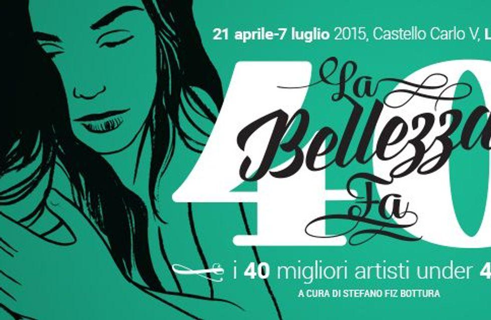 La Bellezza fa 40: a Lecce la mostra dei migliori giovani artisti italiani da scoprire e su cui puntare