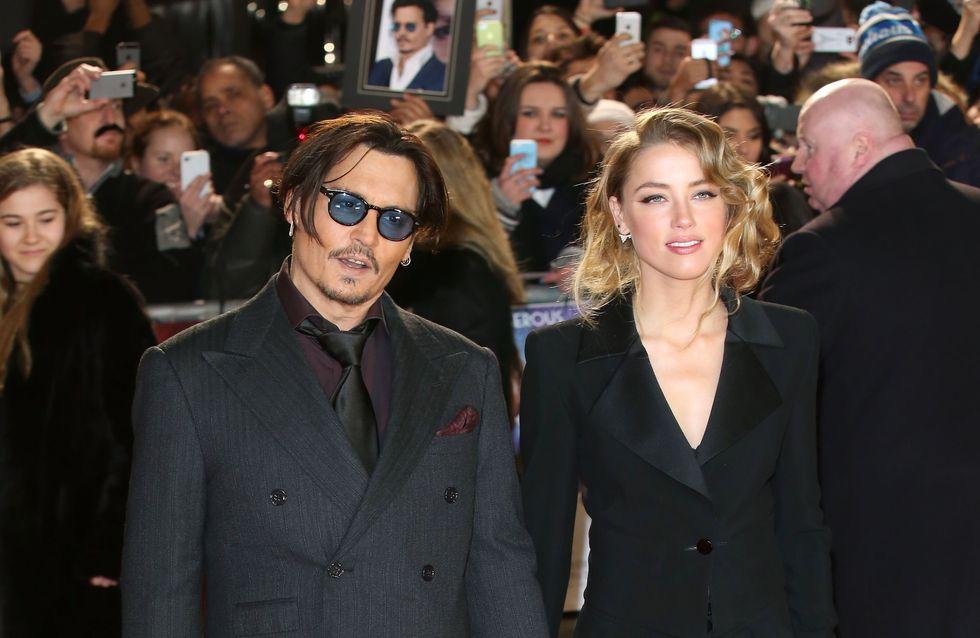 De l'eau dans le gaz entre Johnny Depp et Amber Heard ?
