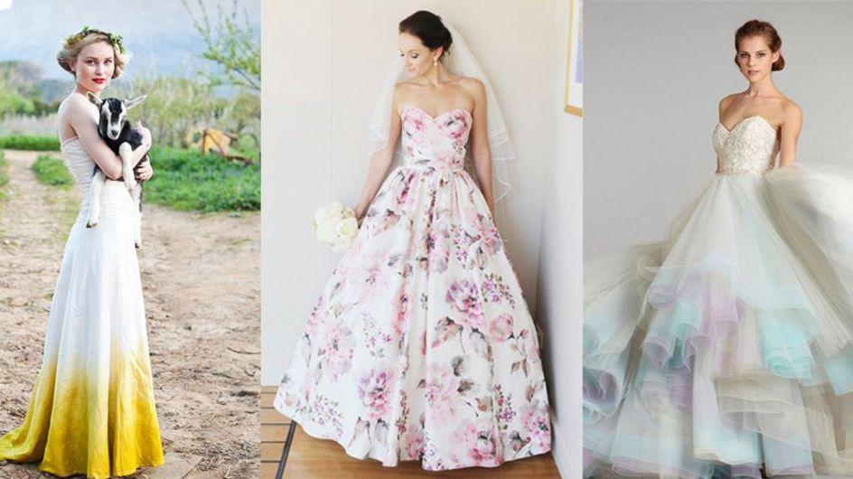 Ces 12 robes de mariée colorées qu'on essaierait volontiers