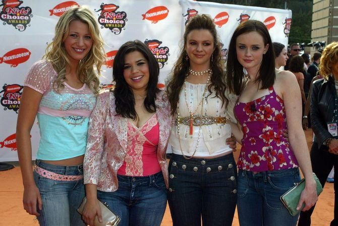 Blake Lively, America Ferrera, Amber Tamblyn et Alexis Bledel en 2005