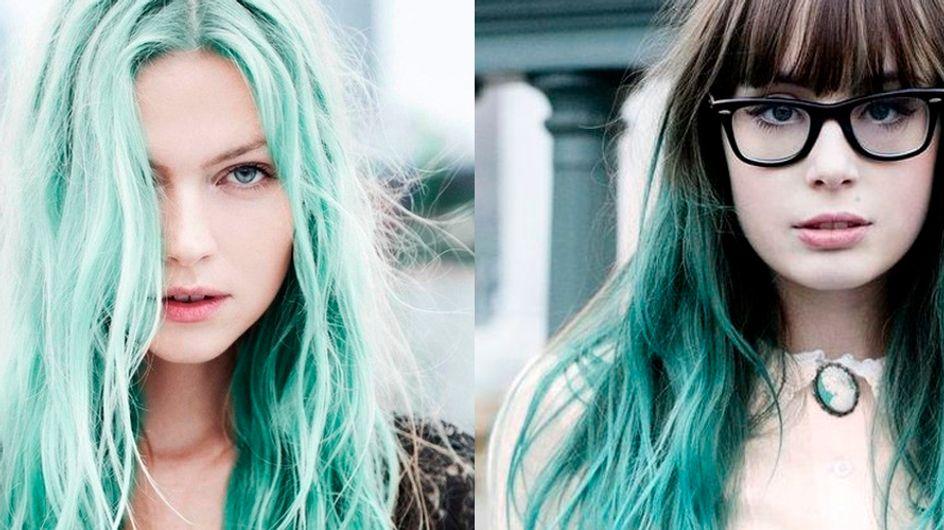 Depois do cabelo cinza, a mania capilar agora atende por #greenhair