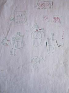 Le dessin d'Abba, 10 ans