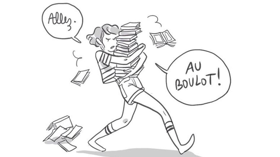 Une dessinatrice dénonce le sexisme de la section Littéraire au bac