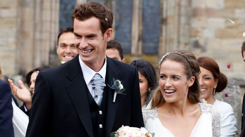 Andy Murray et Kim Sears se sont mariés (Photos)