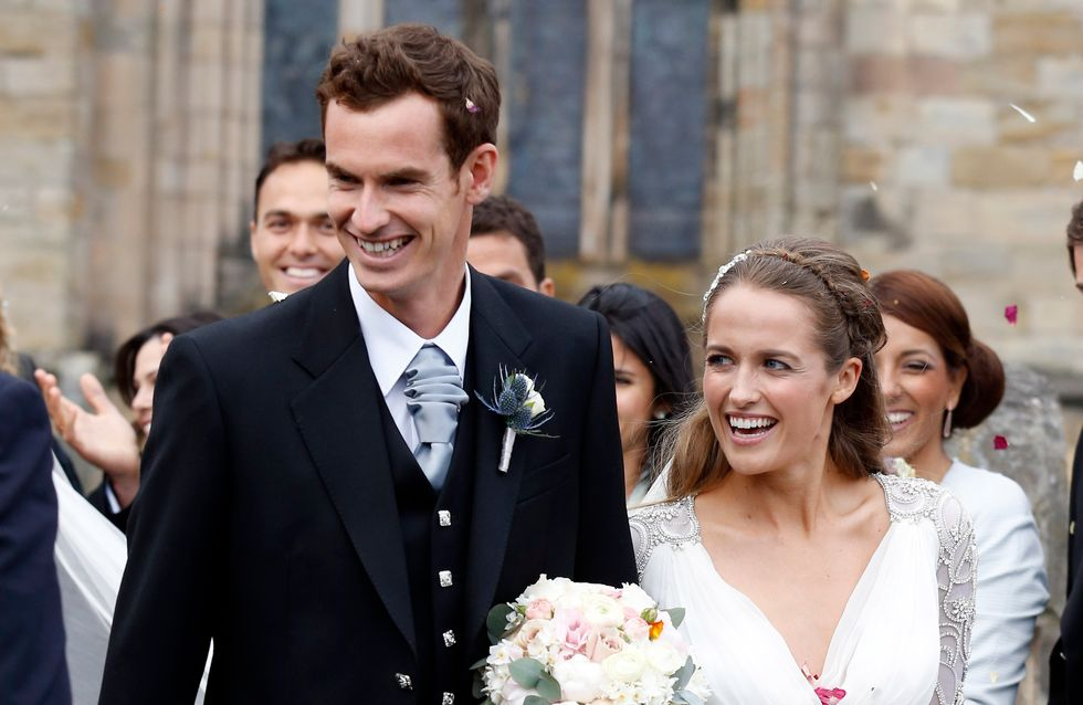 Andy Murray et Kim Sears se sont mariés (Photos)