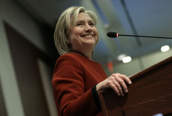 Hillary Clinton candidate démocrate