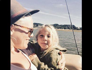 Pink & sa fille