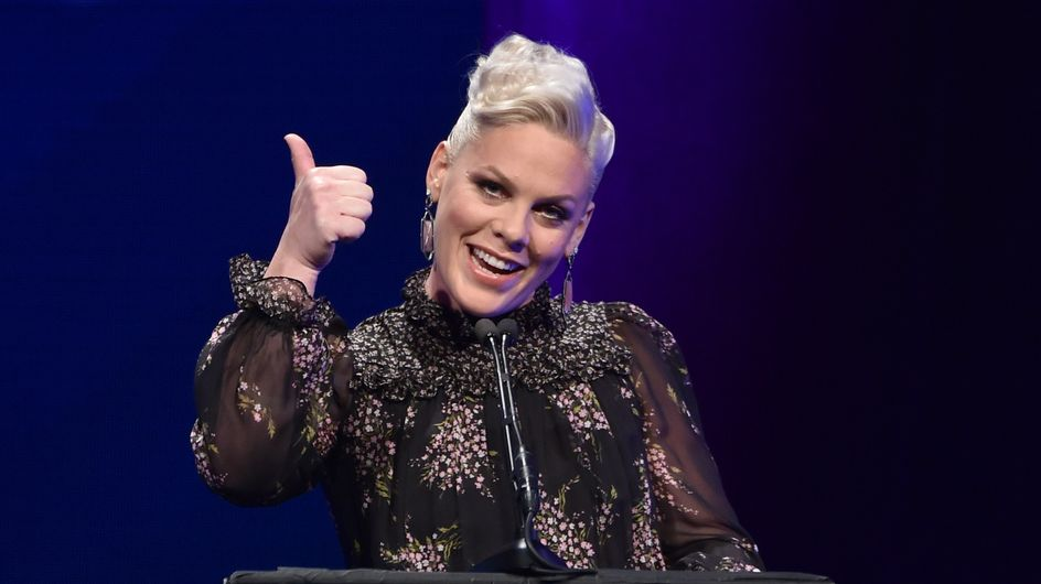 Pink répond aux critiques sur son poids : « Je me trouve belle ! »