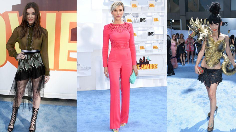 Les pires looks des MTV Movie Awards 2015 (Photos)