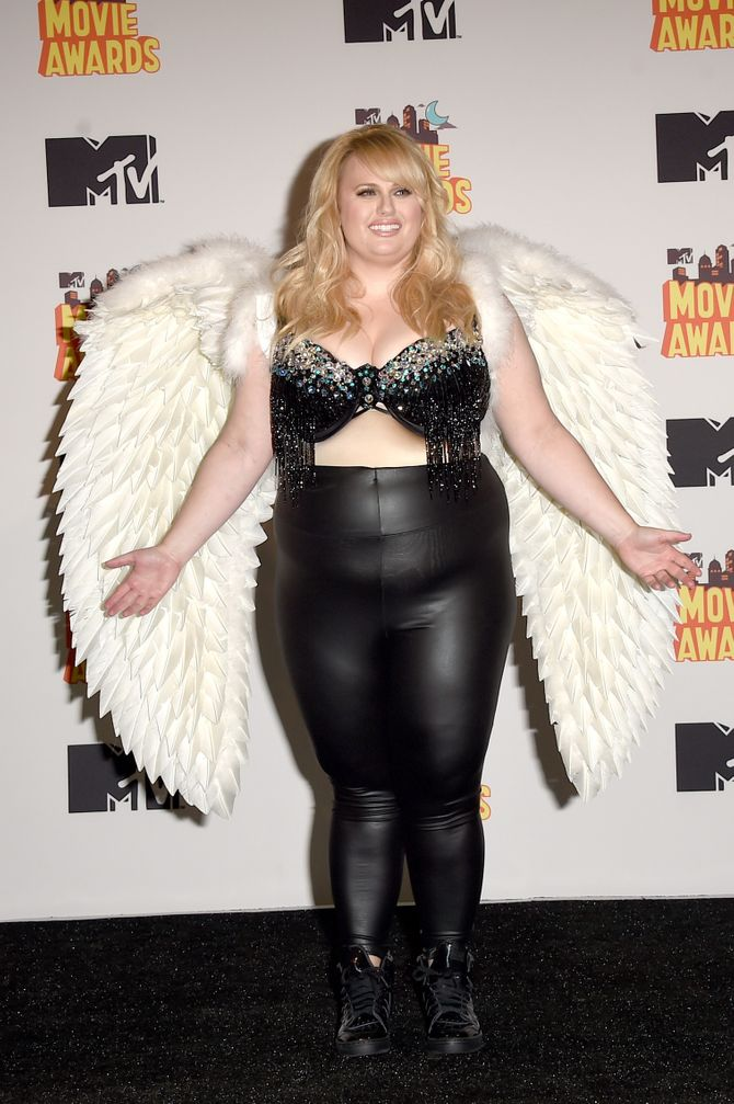 Rebel Wilson le 12 avril 2014