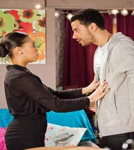 Coronation Street 22/04 - Callum leaves David dangling