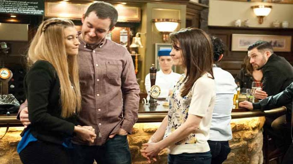 Emmerdale 24/04 - Debbie and Pete are engaged but Ross takes revenge