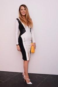Blake Lively à la Fashion Week de New York