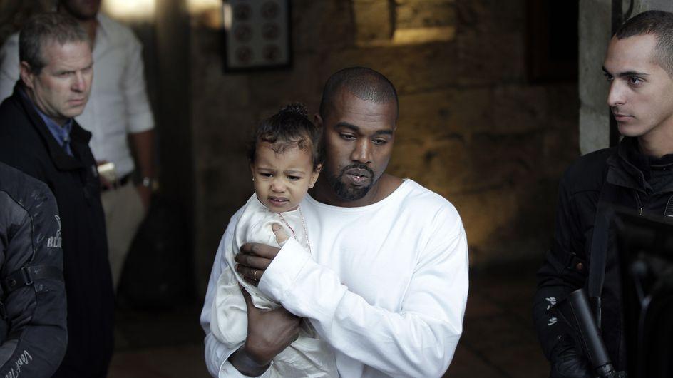 Kim Kardashian et Kanye West ont fait baptiser North à Jérusalem