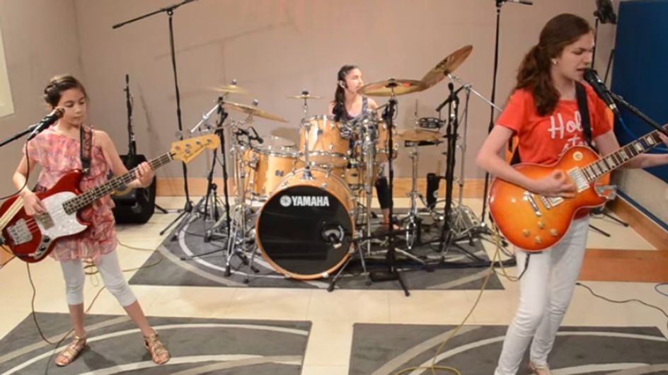 This Girl Band Looks Pretty Tame, But Just Wait Till You Hear Them Play