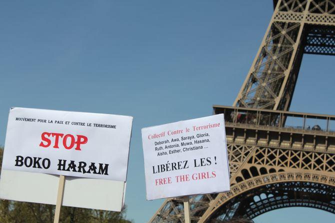 Rassemblement Bring Back Our Girls à Paris
